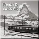 French & Swiss Alps